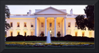 Washington DC, White House at twilight
