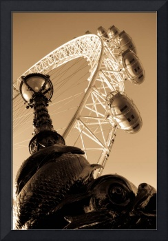 london eye and serpent antique  hi res