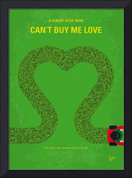 No894 My Cant Buy Me Love minimal movie poster