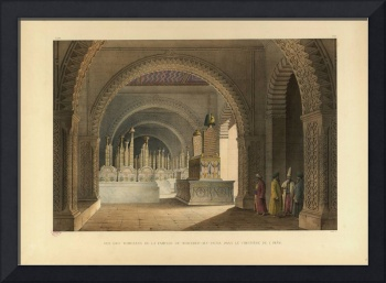 PASCAL XAVIER COSTE (1787-1879), Persian Mosque in