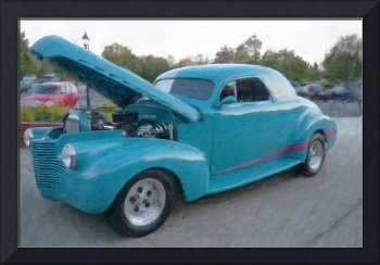 UNDER THE HOOD 1940 CHEVY