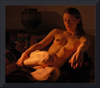 Languid Nude Portrait