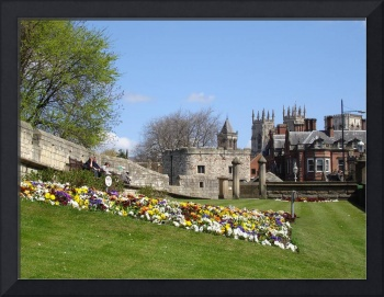 City Wall and York Minster