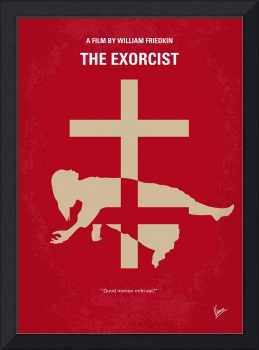 No666 My The Exorcist minimal movie poster