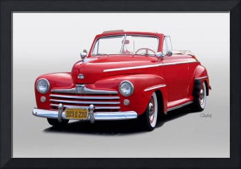 1947 Ford Super Deluxe 8 Convertible