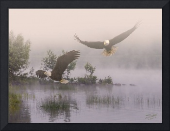 Eagles at Dawn