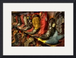 Boots in the Wild West Store (2) by Dave Wilson