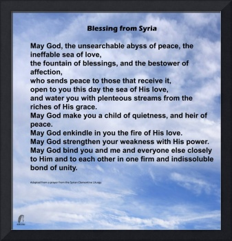 Blessing From Syria