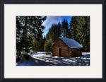 Cozy Cabin by Mark Cullen