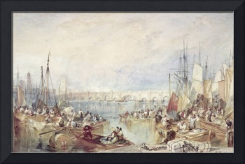 The Port of London by Joseph Turner