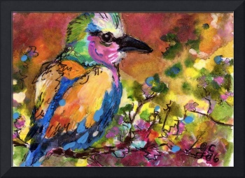For the love of Birds Painting by Ginette