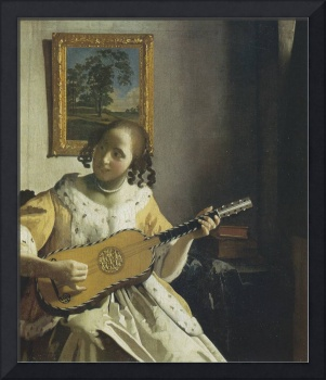 The Guitar Player (c. 1672)