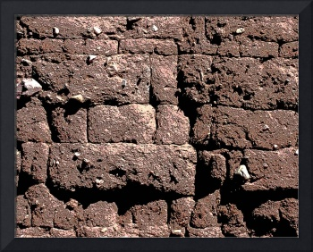 Adobe Brick Wall Pattern