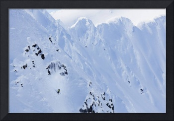 Backcountry Skiing In The Chugach Mountains In Lat