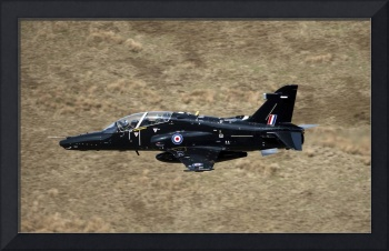 A Hawk T2 jet trainer aircraft of the Royal Air Fo