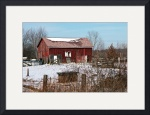 Farm Outbuilding In Winter by Rich Kaminsky