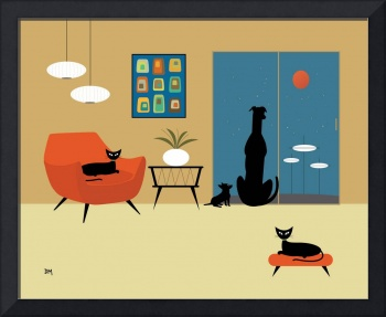 Mid Century Dogs and Cats