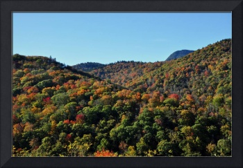 Fall Foliage along the Blue Ridge Parkway, Great S