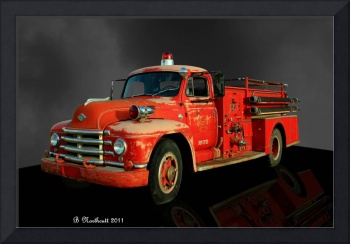 1955 Diamond T Fire Truck - An American Classic