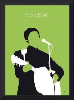 No076 MY PAUL MCCARTNEY Minimal Music poster