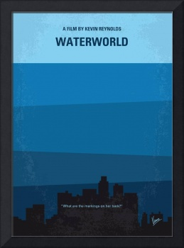 No857 My Waterworld minimal movie poster