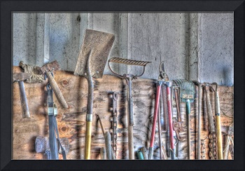 Ranch Tools with HDR