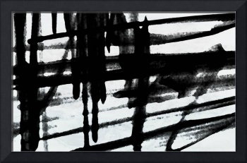 Industrial Abstract in Black and White 2015-20