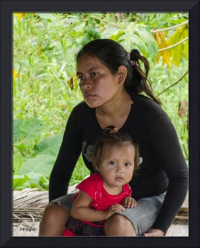 Woman and Child of the Rainforest