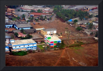 Landing In Goa: The Checkered Building