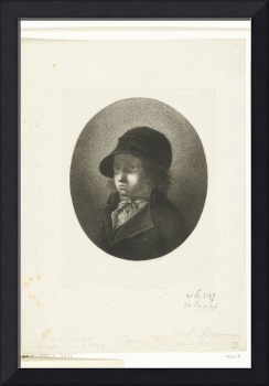 Portrait of Dirk Langendijk as a child, John Bemme