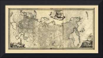 Map of Russia (1776)