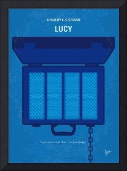 No574 My Lucy minimal movie poster