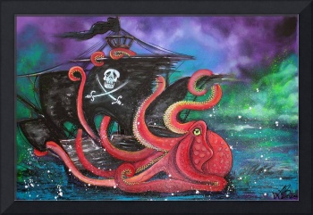 A Pirates Tale - Attack Of The Mutant Octopus