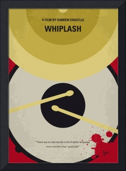No761 My Whiplash minimal movie poster