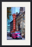 Chicago Theater District by Wayne Moran