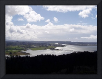 columbia river viewed from astoria