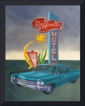 Paintings - Daffodil Motel