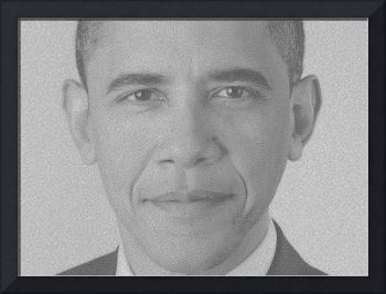 Barack Obama Reaction and Diffusion Pattern