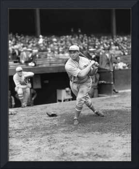 Jimmie Foxx swinging