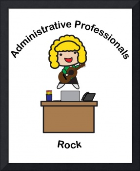 Administrative Professionals Rock (Blonde)