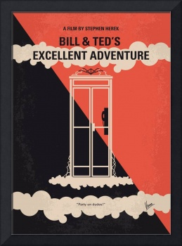 No490 My Bill and Teds Excellent Adventure minimal