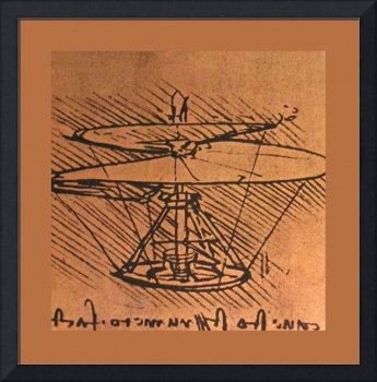 Design For A Helicopter 1500 AD  Medium Border