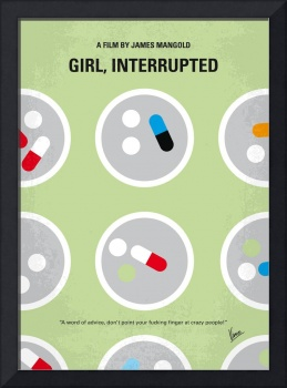 No564 My Girl Interrupted minimal movie poster