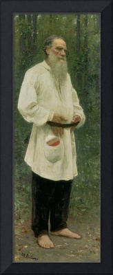 Portrait of Lev Tolstoy