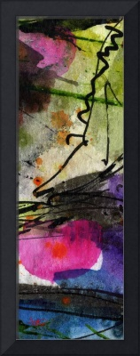 Modern Abstract Tallskinni #9 by Ginette