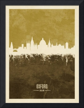 Oxford England Skyline