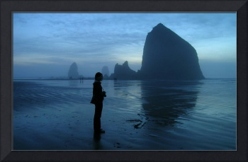 Lydia at Cannon Beach