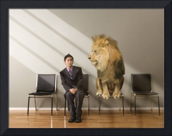 Lion-In-Waiting-Room