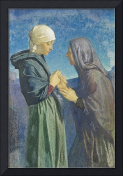 Mary and Elizabeth by Dorothy Webster Hawksley