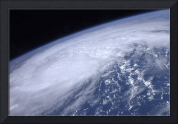 View from space of Hurricane Irene as it passes ov